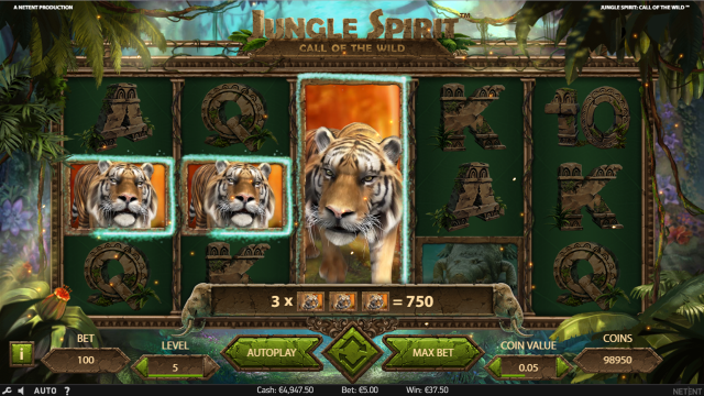 Бонусная игра Jungle Spirit: Call Of The Wild 9